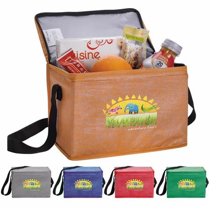 Picture of Non-Woven Shimmer Lunch Cooler