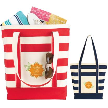 Picture of Striped Cotton Tote