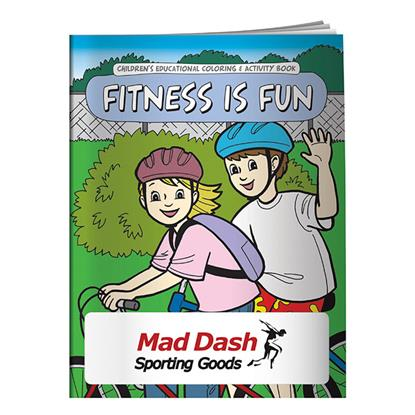 Picture of Coloring Book: Fitness is Fun