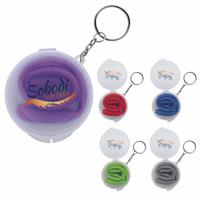 Picture of Delight Silicone Straw in Box with Keychain