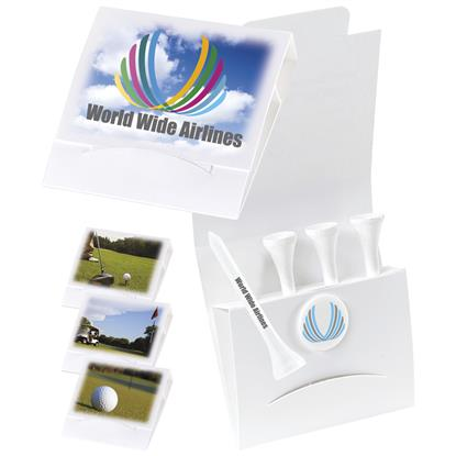 "Picture of 4-1 Golf Tee Packet - 3-1/4"" Tee"