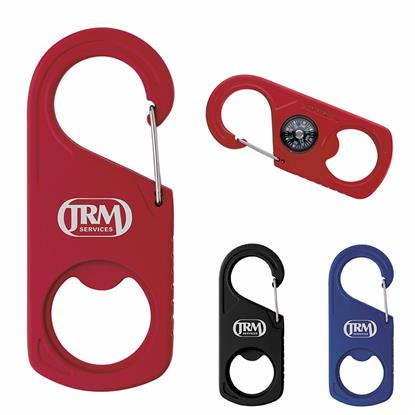 Picture of Koozie® 2-in-1 Carabiner