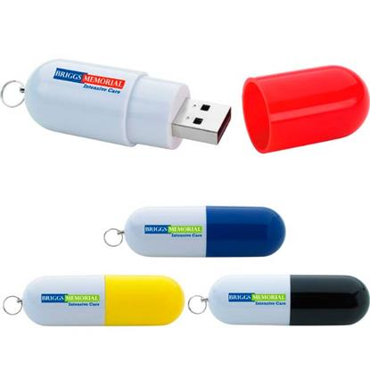 Picture of 4 GB Capsule USB 2.0 Flash Drive