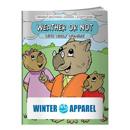 Picture of Coloring Book: Weather or Not