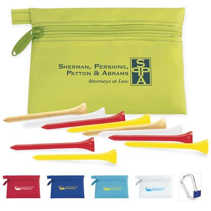 Picture of Links Pouch with Tees Value Pak