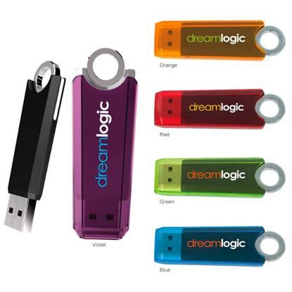 Picture of 2 GB Ring USB 2.0 Flash Drive