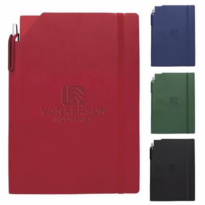 Picture of Essential Journal with Ribbon Stylus Pen