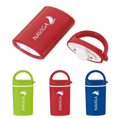 Picture of Mini Magnet Flashlight with Carabiner