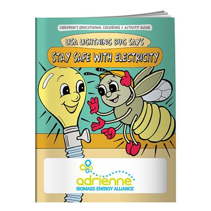Picture of Coloring Book: Stay Safe with Electricity