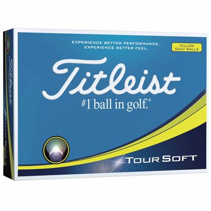 Picture of Titleist® Tour Soft Yellow Std Serv