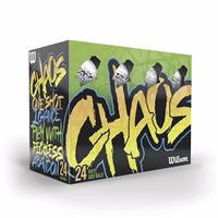 Picture of Wilson®Chaos™ - 24 ball pack -Std Serv