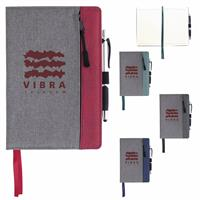 Picture of Front Zip Pocket Journal