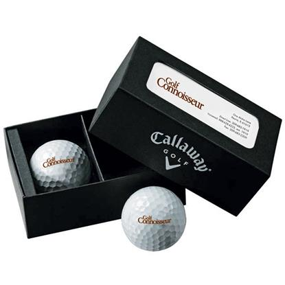 Picture of Callaway® 2-Ball Business Card Box - Super Soft
