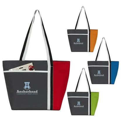 Picture of Calling All Stripes Cooler Tote