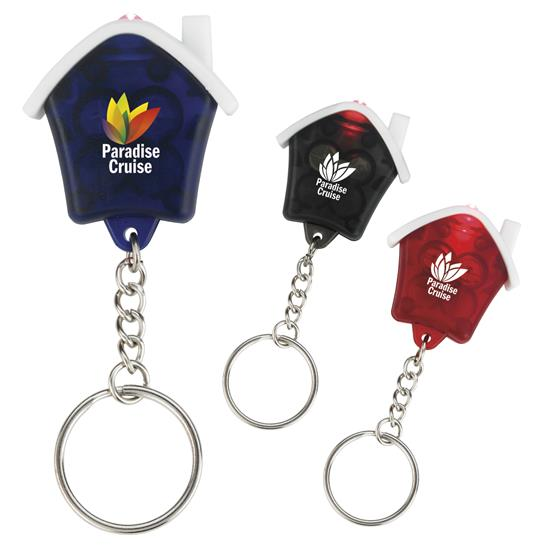 Picture of Mini House Flashlight Keychain