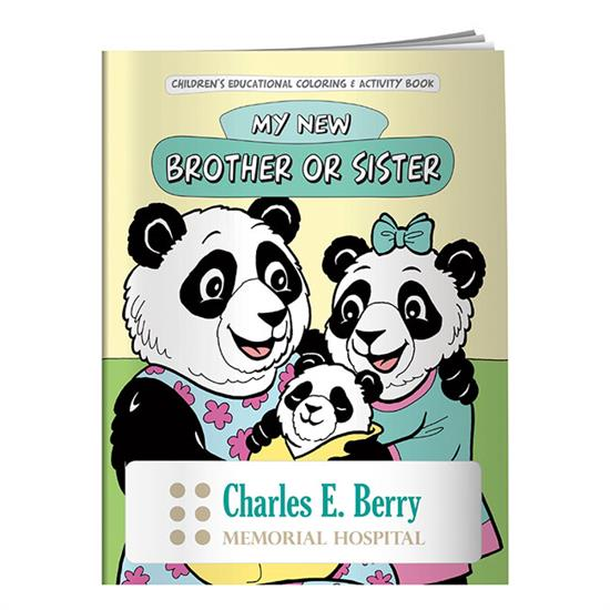 Picture of Coloring Book: My New Brother or Sister