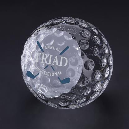 "Picture of Golf Ball Paperweight 2-3/8"" Dia"