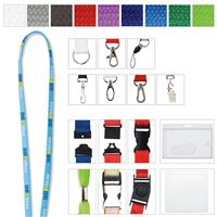 """Picture of 5/8"""" Polyester Tube Lanyard"""
