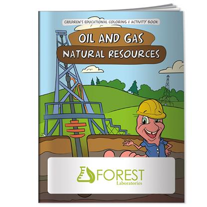 Picture of Coloring Book: Oil & Gas Natural Resources