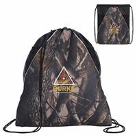 Picture of Camouflage Drawstring Backpack