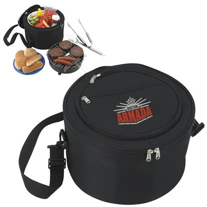 Picture of Koozie® Portable BBQ with Kooler Bag