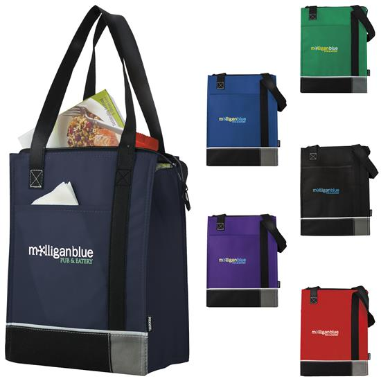 Picture of Koozie® Tri-Tone Lunch Sack