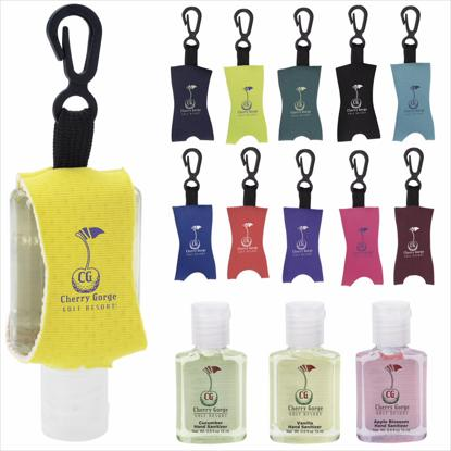 Picture of .5 oz. Custom Label Hand Sanitizer/Leash - Scented