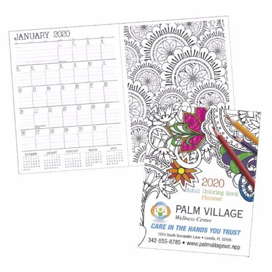 Picture of Adult Coloring Book Planner