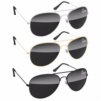 Picture of Metal Aviator Sunglasses