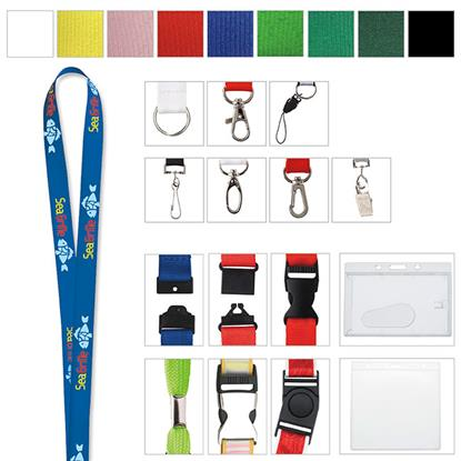 "Picture of 5/8"" Polyester Lanyard"