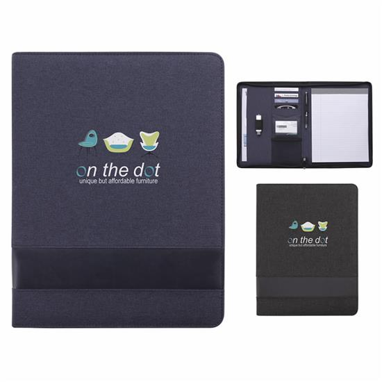 Picture of Trade Zippered Padfolio