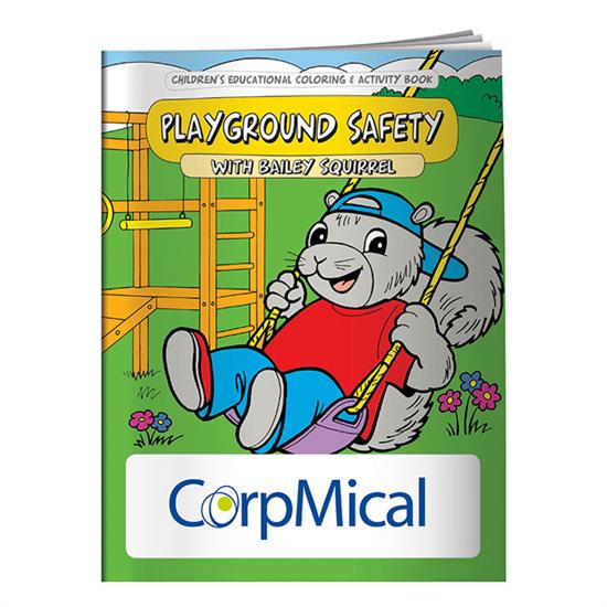 Picture of Coloring Book: Playground Safety