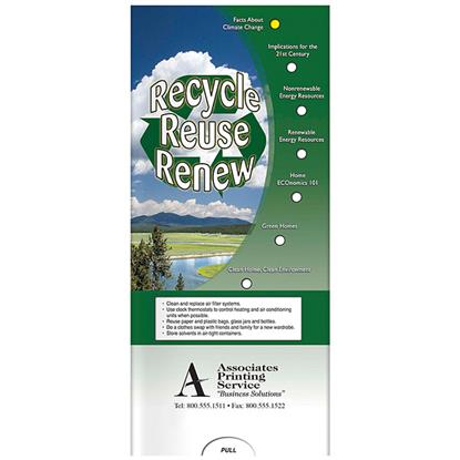 Picture of Pocket Slider: Recycle, Reuse, Renew