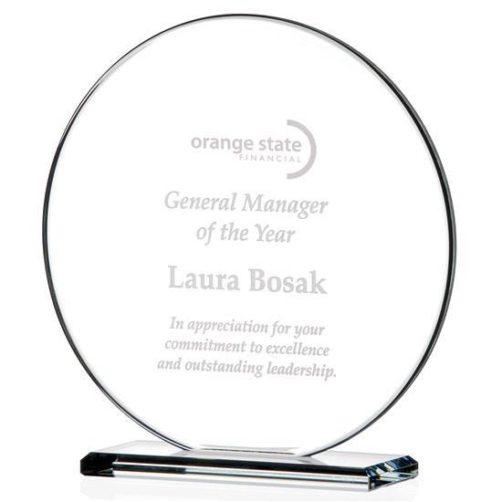 Picture of Round Gem Cut Award - Medium
