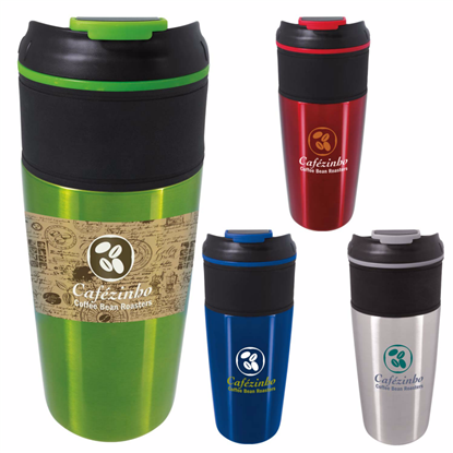 Picture of Mornen Tumbler with Grip - 16 oz.