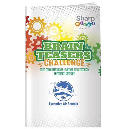 Picture of Sharp Minds Games: Brain Teasers
