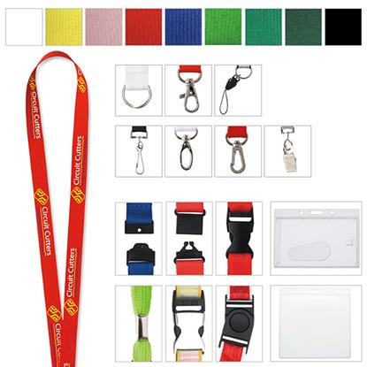 "Picture of 3/4"" Polyester Lanyard"