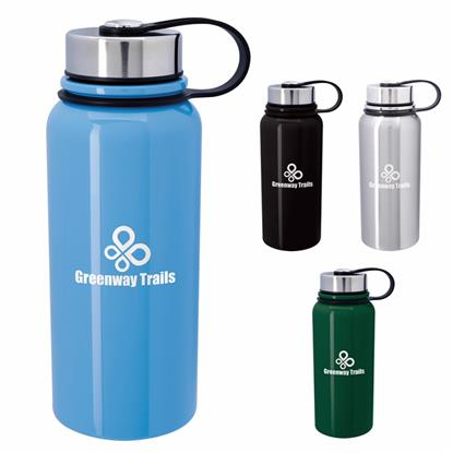 Picture of Mountain Vacuum Stainless-Steel Bottle - 34 oz.