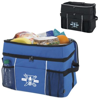 Picture of Koozie® Double-Compartment 30-Can Kooler