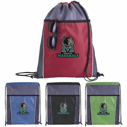 Picture of Clean Edge Drawstring Backpack