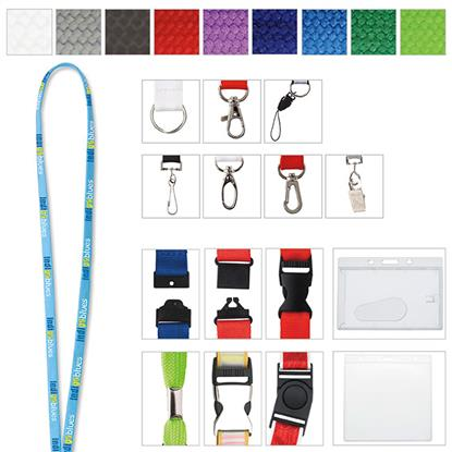 "Picture of 3/8"" Polyester Tube Lanyard"