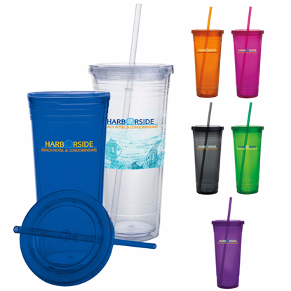 Picture of Double Wall Acrylic Tumbler - 24 oz.