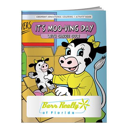 Picture of Coloring Book: It's Moo-ving Day