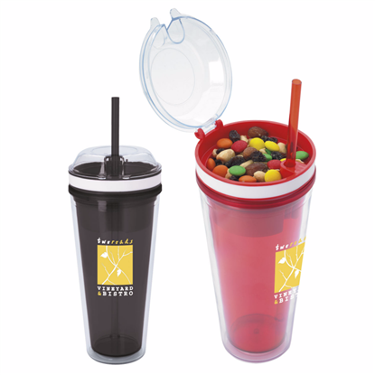 Picture of Snack N Sip Tumbler 18 oz.