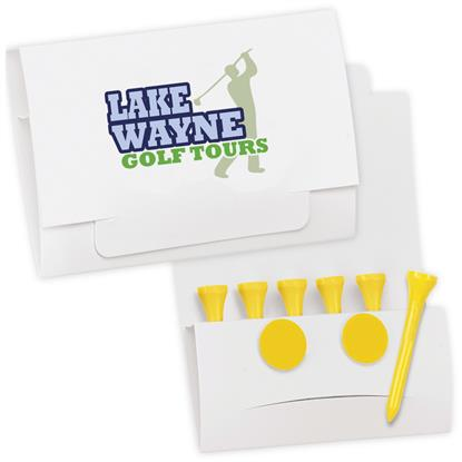 "Picture of 6-2 Golf Tee Packet - Value Pak-2-1/8"" Tees"