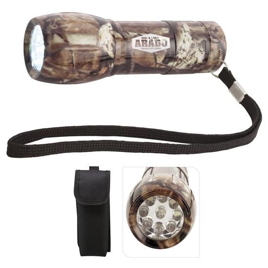 Picture of Mossy Oak® Camouflage Mini Aluminum LED Flashlight