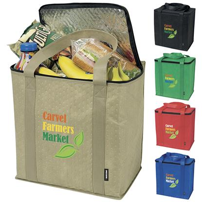 Picture of Koozie® Zippered Insulated Grocery Tote