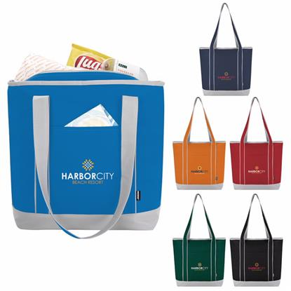 Picture of Koozie® Lunch-Time Kooler Tote