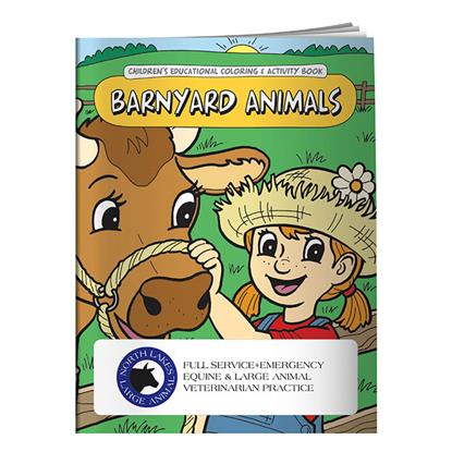 Picture of Coloring Book: Barnyard Animals