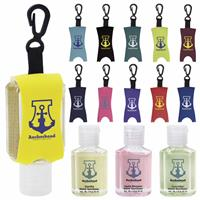Picture of 1 oz. Custom Label Hand Sanitizer/Leash - Scented
